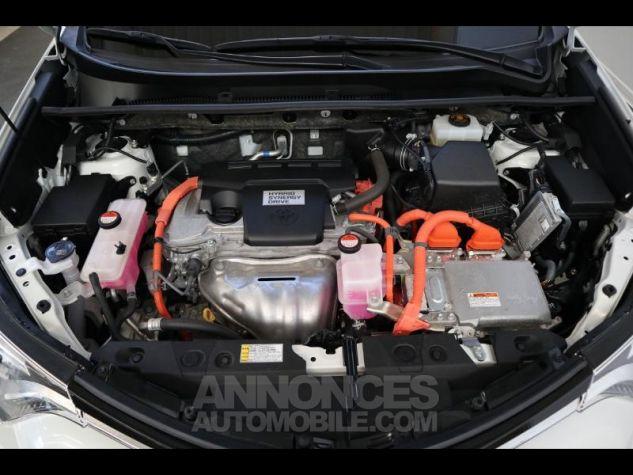 Toyota RAV4 197 Hybride Design 2WD CVT BLANC NACRE Occasion - 15