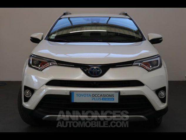 Toyota RAV4 197 Hybride Design 2WD CVT BLANC NACRE Occasion - 17