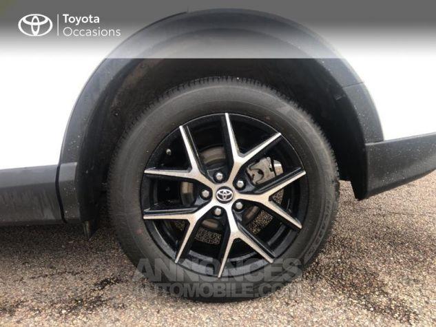 Toyota RAV4 197 Hybride Design 2WD CVT Blanc Occasion - 3