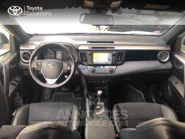 Toyota RAV4 197 Hybride Design 2WD CVT Blanc Occasion - 4