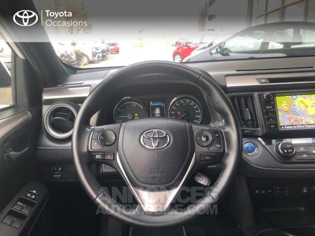 Toyota RAV4 197 Hybride Design 2WD CVT Blanc Occasion - 5