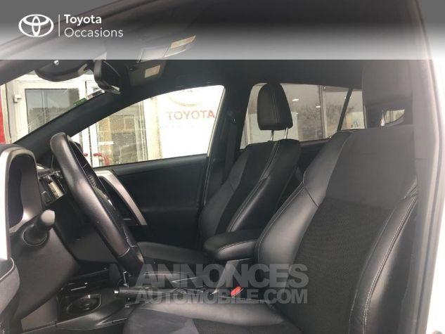 Toyota RAV4 197 Hybride Design 2WD CVT Blanc Occasion - 12