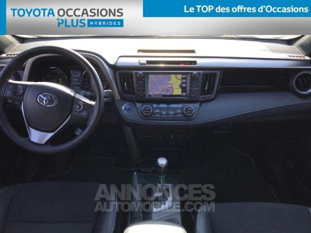 Toyota RAV4 197 Hybride Design AWD CVT NOIR Occasion - 4
