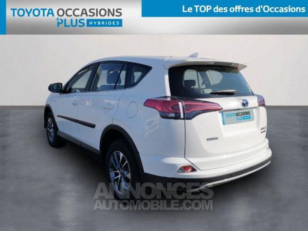 Toyota RAV4 197 Hybride Dynamic 2WD CVT BLANC Occasion - 1
