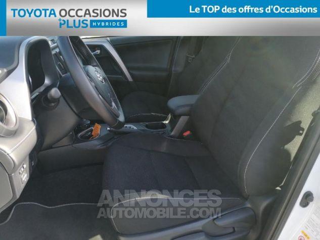 Toyota RAV4 197 Hybride Dynamic 2WD CVT BLANC Occasion - 12