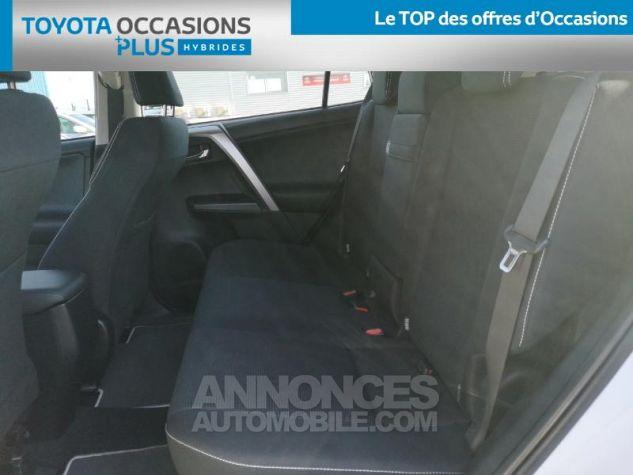 Toyota RAV4 197 Hybride Dynamic 2WD CVT BLANC Occasion - 13