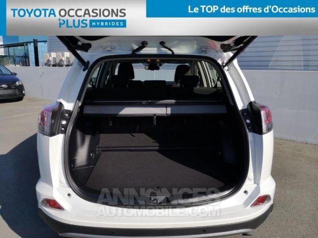Toyota RAV4 197 Hybride Dynamic 2WD CVT BLANC Occasion - 14