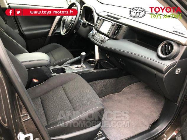Toyota RAV4 197 Hybride Dynamic 2WD CVT Brun Fonce Occasion - 10