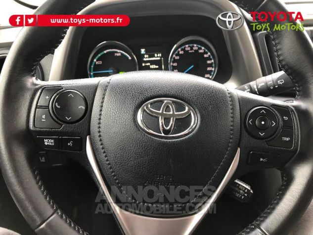 Toyota RAV4 197 Hybride Dynamic 2WD CVT Brun Fonce Occasion - 13