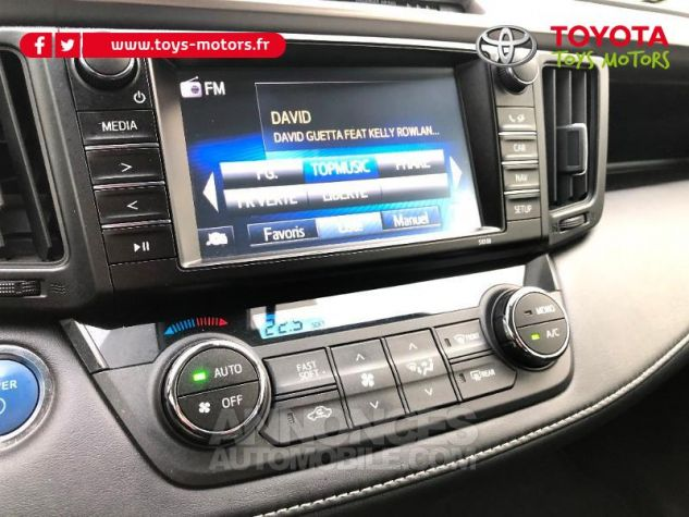 Toyota RAV4 197 Hybride Dynamic 2WD CVT Brun Fonce Occasion - 16