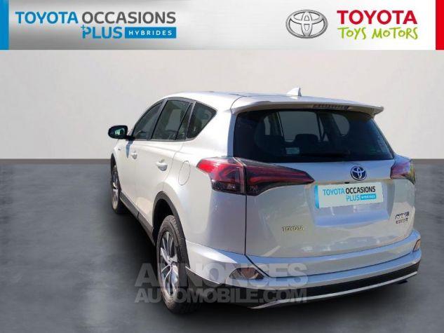 Toyota RAV4 197 Hybride Dynamic 2WD CVT Blanc Nacré Occasion - 1