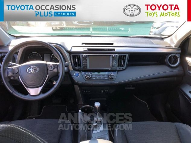 Toyota RAV4 197 Hybride Dynamic 2WD CVT Blanc Nacré Occasion - 4