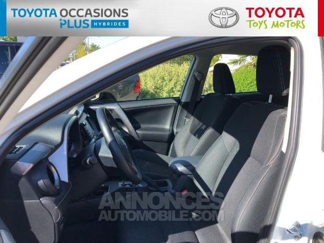 Toyota RAV4 197 Hybride Dynamic 2WD CVT Blanc Nacré Occasion - 12