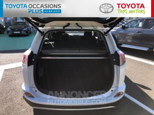 Toyota RAV4 197 Hybride Dynamic 2WD CVT Blanc Nacré Occasion - 14