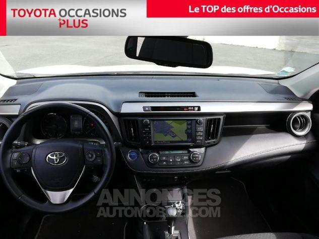 Toyota RAV4 197 Hybride Dynamic Edition 2WD CVT Blanc Pur Occasion - 4