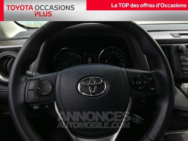 Toyota RAV4 197 Hybride Dynamic Edition 2WD CVT Blanc Pur Occasion - 5
