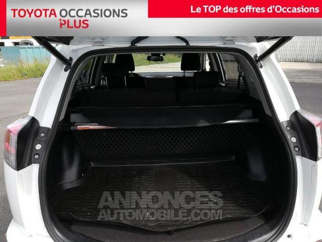 Toyota RAV4 197 Hybride Dynamic Edition 2WD CVT Blanc Pur Occasion - 14