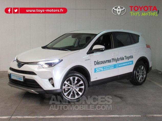 Toyota RAV4 197 Hybride Dynamic Edition AWD CVT BLANC NACRE Occasion - 0