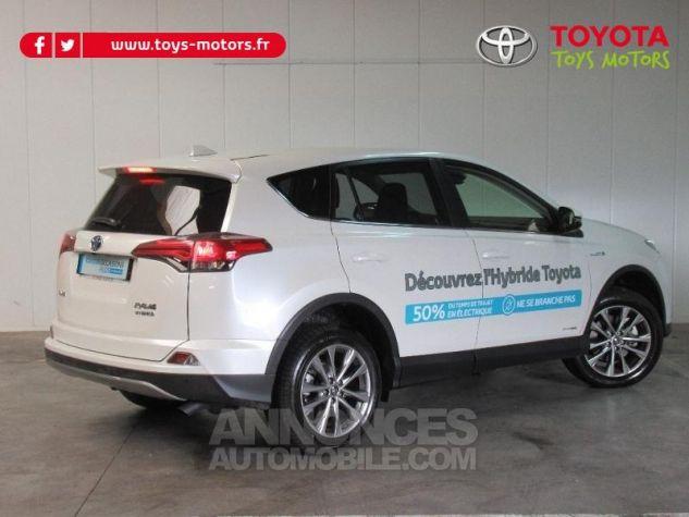 Toyota RAV4 197 Hybride Dynamic Edition AWD CVT BLANC NACRE Occasion - 1