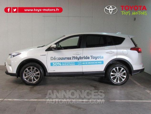 Toyota RAV4 197 Hybride Dynamic Edition AWD CVT BLANC NACRE Occasion - 2