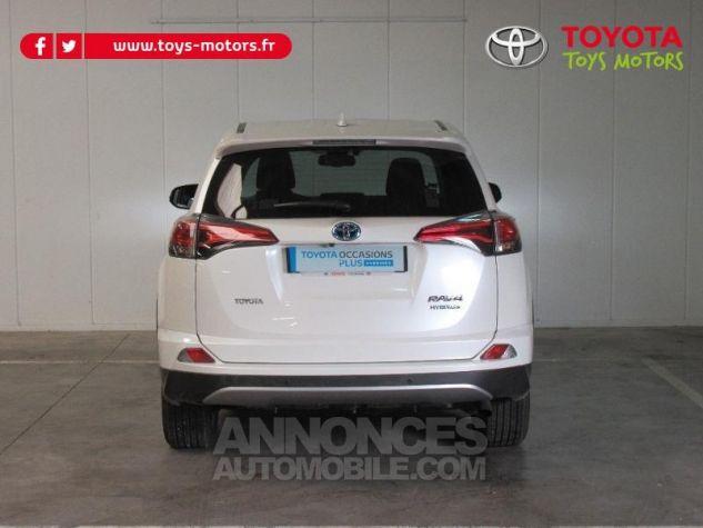 Toyota RAV4 197 Hybride Dynamic Edition AWD CVT BLANC NACRE Occasion - 4