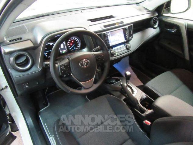 Toyota RAV4 197 Hybride Dynamic Edition AWD CVT BLANC NACRE Occasion - 6