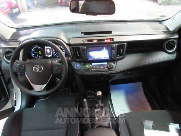 Toyota RAV4 197 Hybride Dynamic Edition AWD CVT BLANC NACRE Occasion - 7