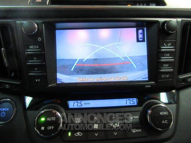 Toyota RAV4 197 Hybride Dynamic Edition AWD CVT BLANC NACRE Occasion - 16