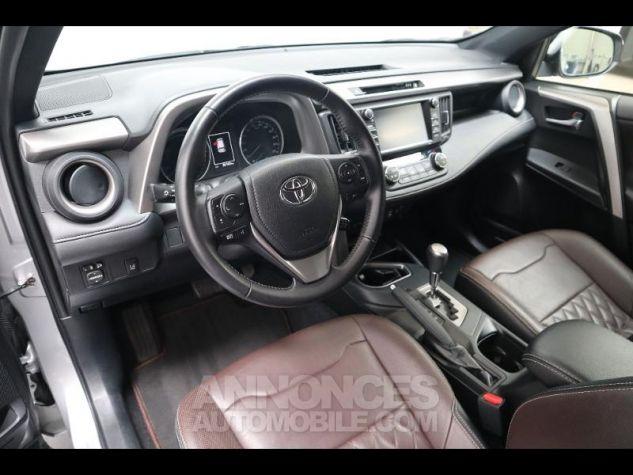 Toyota RAV4 197 Hybride Exclusive 2WD CVT Gris Clair Métal Occasion - 4