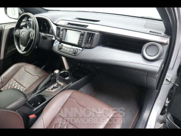 Toyota RAV4 197 Hybride Exclusive 2WD CVT Gris Clair Métal Occasion - 6