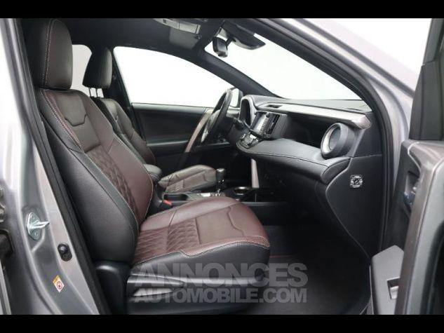 Toyota RAV4 197 Hybride Exclusive 2WD CVT Gris Clair Métal Occasion - 13