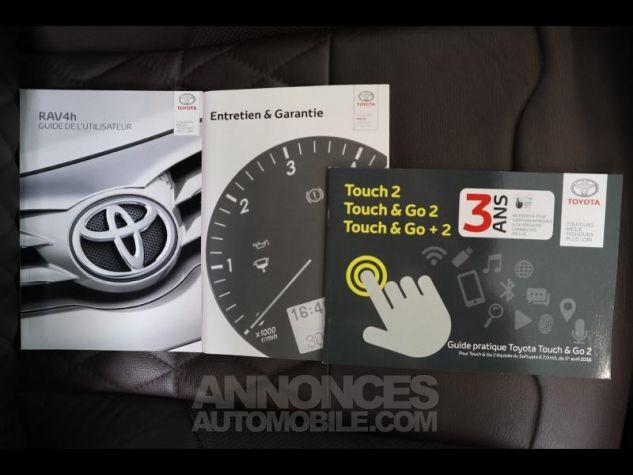 Toyota RAV4 197 Hybride Exclusive 2WD CVT Gris Clair Métal Occasion - 16