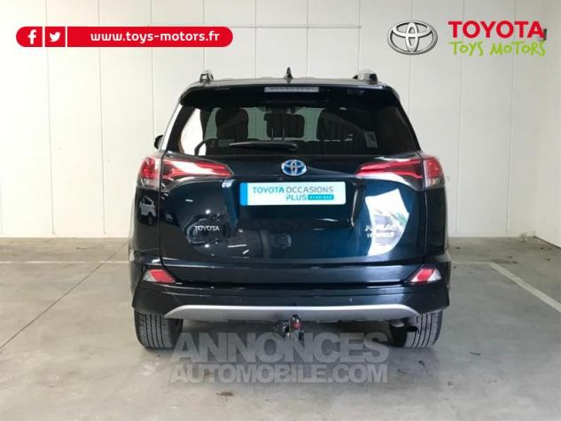 Toyota RAV4 197 Hybride Exclusive 2WD CVT NOIR COBALT Occasion - 4