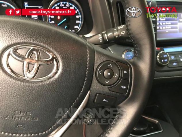 Toyota RAV4 197 Hybride Exclusive 2WD CVT NOIR COBALT Occasion - 12