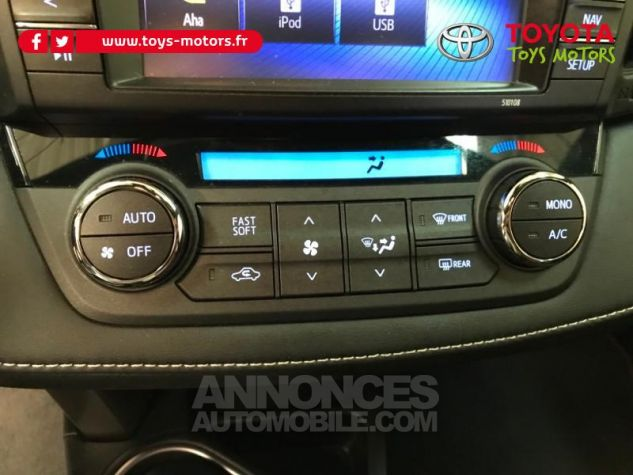 Toyota RAV4 197 Hybride Exclusive 2WD CVT NOIR COBALT Occasion - 16