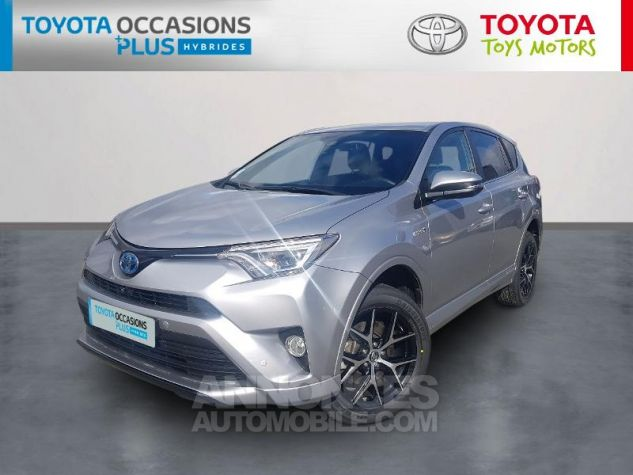 Toyota RAV4 197 Hybride Exclusive 2WD CVT Gris Occasion - 0