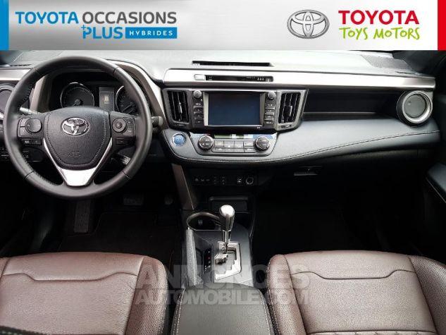 Toyota RAV4 197 Hybride Exclusive 2WD CVT Gris Occasion - 4