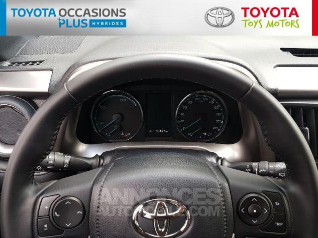 Toyota RAV4 197 Hybride Exclusive 2WD CVT Gris Occasion - 7