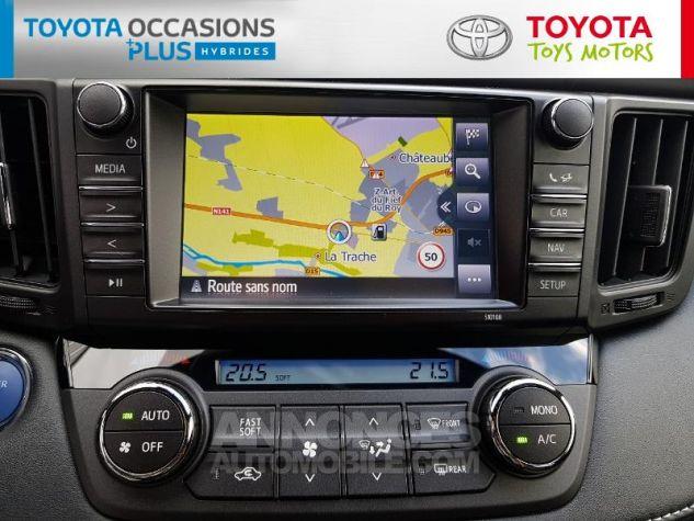 Toyota RAV4 197 Hybride Exclusive 2WD CVT Gris Occasion - 16