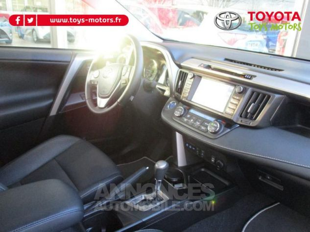 Toyota RAV4 197 Hybride Lounge 2WD CVT RC18 BLANC NACRE Occasion - 6