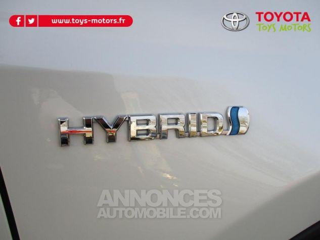 Toyota RAV4 197 Hybride Lounge 2WD CVT RC18 BLANC NACRE Occasion - 9