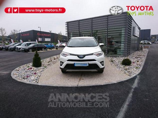 Toyota RAV4 197 Hybride Lounge 2WD CVT RC18 Blanc Nacre Occasion - 0
