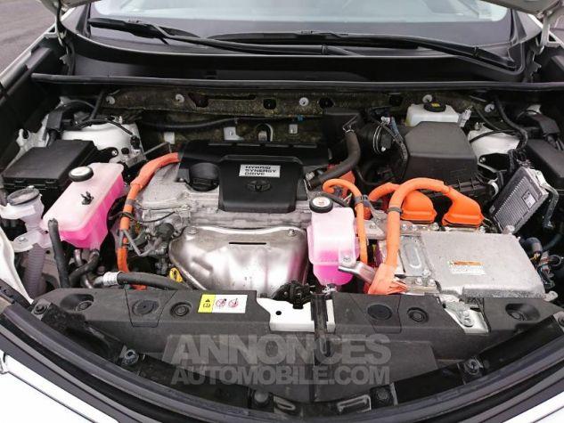 Toyota RAV4 197 Hybride Lounge 2WD CVT RC18 Blanc Nacre Occasion - 13