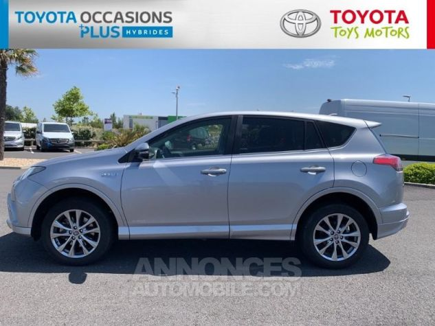 Toyota RAV4 197 Hybride Silver Edition 2WD CVT Gris Acier Metal Occasion - 1