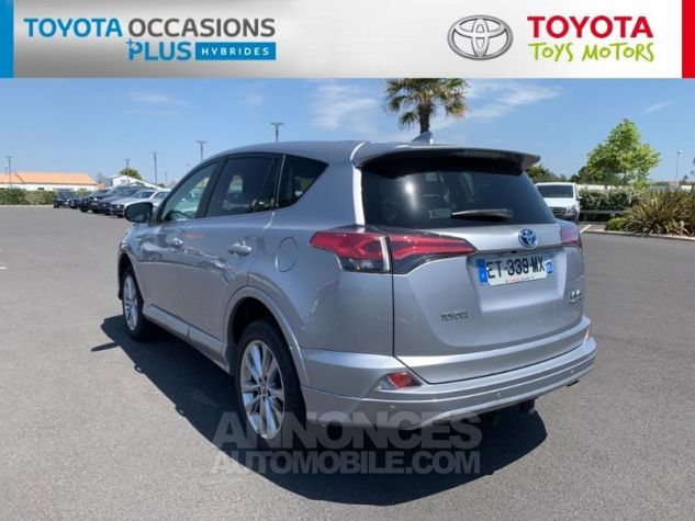 Toyota RAV4 197 Hybride Silver Edition 2WD CVT Gris Acier Metal Occasion - 2