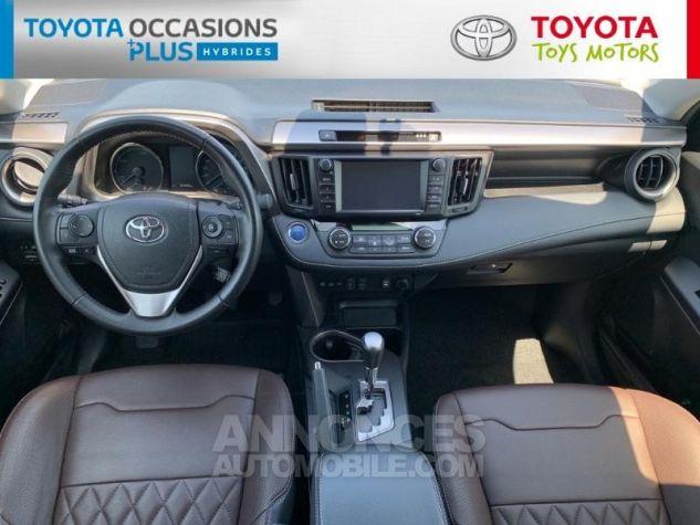 Toyota RAV4 197 Hybride Silver Edition 2WD CVT Gris Acier Metal Occasion - 3