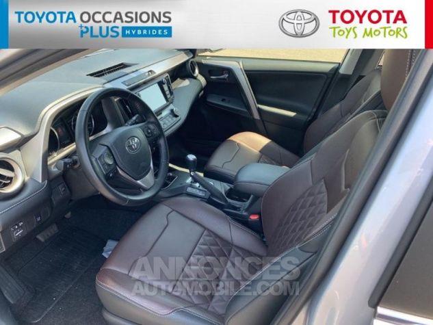 Toyota RAV4 197 Hybride Silver Edition 2WD CVT Gris Acier Metal Occasion - 4