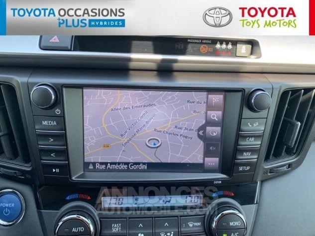Toyota RAV4 197 Hybride Silver Edition 2WD CVT Gris Acier Metal Occasion - 6