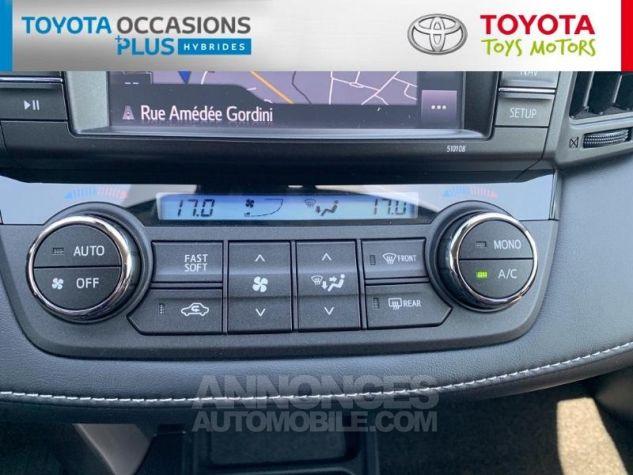 Toyota RAV4 197 Hybride Silver Edition 2WD CVT Gris Acier Metal Occasion - 7