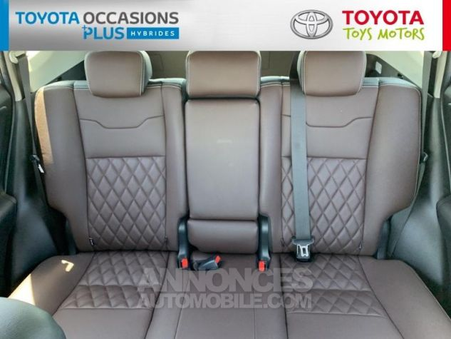 Toyota RAV4 197 Hybride Silver Edition 2WD CVT Gris Acier Metal Occasion - 9